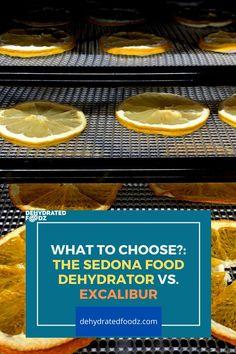See a full breakdown of two big brands: the Sedona food dehydrator vs Excalibur. #excaliburdehydrator #sedonadehydrator #dehydratedfood #fooddehydrator #bestdehydrator