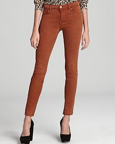WANT ---J Brand Jeans - 620 Tencel Super Skinny in Bourbon