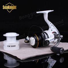 SeaKnight Fishing Reel CM2000-4000 14BB 5.2:1 Metal Spinning Fishing Carp Fishing Sale - Banggood.com