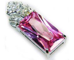 Romantic Pink Kunzite 925 Silver Plated Pendant ►► http://www.gemstoneslist.com/jewelry/kunzite-pendants.html?i=p