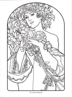 Art Deco - Alphonse Mucha 14