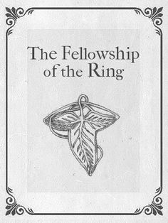 Lord of the Rings, The Fellowship of the Ring