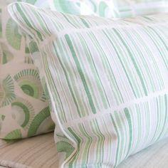 """Grass 16"""" x 26"""" Fans + Palette Reversible Accent Pillow"""