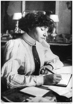 French writer Colette, 1900s