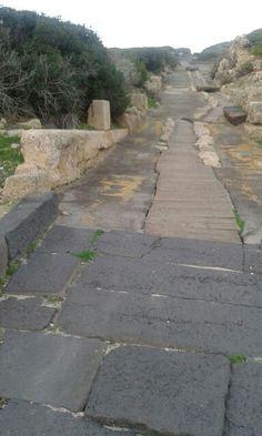 Tharros ,Cabras Oristano , citta'romana