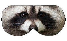 Raccoon Sleep Eye Mask Masks Sleeping mask masks Blindfold Travel Eye Eyes cover covers patch patches sleeping Slumber Eyewear Accessory by venderstore on Etsy