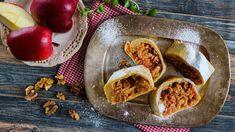 Patří jablečný štrúdl mezi vaše oblíbené moučníky? Vyzkoušejte závin zpivního těsta ase sádlem. Je snadný: na těsto budete potřebovat jen tři ingredience! Tacos, Mexican, Ethnic Recipes, Mexicans