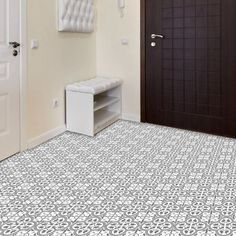 Welcome some period elegance into your home with the Hampton range of grey and white Victorian tiles. The eye catching pattern in subtle tones of grey and white will inject some vintage style into any room. Made from hardwearing porcelain and with a matt finish they are perfect for hallways and high traffic areas.