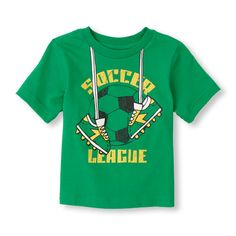 soccer league graphic tee