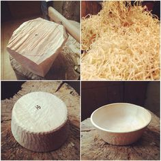 Cereal Bowl prototype.. Bowls like this one and others, will available from Hatchet+Bear soon.