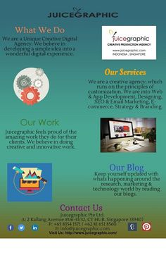#Juicegraphic is an #Unique #Creative #Digital #Agency We believe in providing services which turn a simple dream into a totally unique #digital experience. http://www.juicegraphic.com/