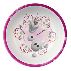 Start the day right with cheer in your cereal bowl – Frozen characters make mealtime fun!