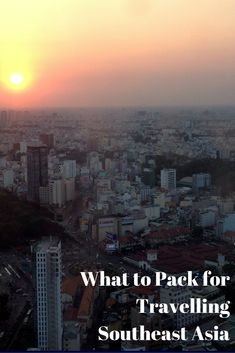What to pack for #travelling #Southeast Asia    - Paula Through the Looking Glass -  Photo: Saigon, #Vietnam