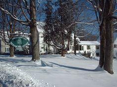 White Cedar Inn in Winter