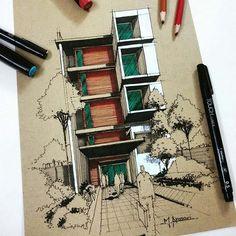 Por @m.ansari.architect #arquitetapage
