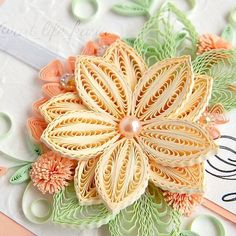 """821 aprecieri, 54 comentarii - Kasia Wojtasik (@art_life_kasia) pe Instagram: """"It's time to show new #quilling work. This is a #wedding card for a great young couple. Let their…"""""""