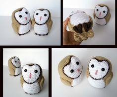Barn Owl Amigurumi by MilesofCrochet on DeviantArt