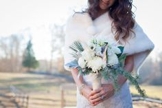 winter wedding II  Flowers by Carrie Wilcox Floral Design