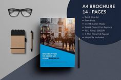 Check out modern portfolio booklet 36 pages by celcius design on a4 business brochure template by divergent studio on creativemarket wajeb Images