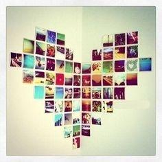 Photowall heart