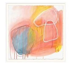 Sunset Mood Print #potterybarn #originalartbytriciastrickfaden