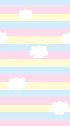 Wallpaper, rainbow wallpaper, pastel wallpaper, cute backgrounds, phone b. Baby Wallpaper, Wallpaper Pastel, Rainbow Wallpaper, Kawaii Wallpaper, Tumblr Wallpaper, Screen Wallpaper, Emoji Wallpaper, Cute Backgrounds, Cute Wallpapers