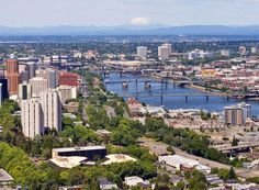 9. Living in Florida, the PNW seems like a great escape for summer.  Especially with the friends I have there.  Portland Oregon Skyline