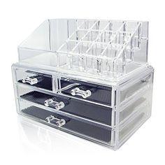 Aoovi Acrylic Jewelry Organizer,Cosmetic Storage D... https://www.amazon.com/dp/B01IAZ3HKG/ref=cm_sw_r_pi_dp_x_Nzj0xbE49SC38