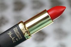 L'Oreal Collection Exclusive Lipsticks | Nudes & Reds in Blake's Red! Sophia Meola | A Beauty, Fashion & Lifestyle Blog #bbloggers #loreal #jlo #doutzen #blakelively #juliannemoore #makeup #lipstick