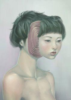 Surreal Portraits by Lek Chan