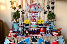 Amor a primeira vista por esta linda Festa Patrulha Canina. Decoração Atelier Personnalisé. Lindas ideias e muita inspiração! Bjs, Fabiola Teles. ...
