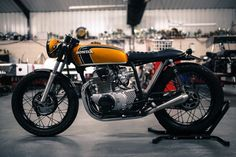 Honda cb250 1974- Bike Shed mc 2018.