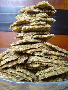 Zucchini Walnut Crackers (& zucchini hummus, raw recipes)