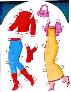 166 Paper Dolls, Ronald Mcdonald, Disney Characters, Fictional Characters, Album, Passion, Picasa, Paper Envelopes, Weaving