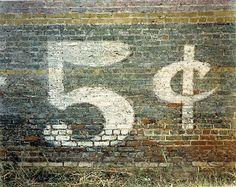 5 cents, William Christenberry