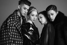 KARD shows off their charisma in the third set of teaser photos for 'Red Moon' French Montana, Mamamoo, K Pop, Super Junior, Edm, Kard Bm, Dancehall, Hip Hop, Bts Boys