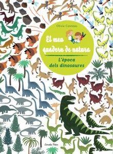 el meu quadern de natura: dinosaures!!