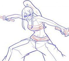how to draw erza