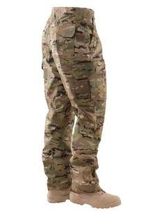 512fc4fc007ba TRU-SPEC 24-7 Mens Tactical Pants 65 35 Polyester Cotton Rip-Stop Multicam  - MEDIUM - 34x32