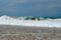 Some waves at Cotillo, Fuerteventura east coast