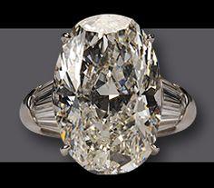 Diamond Rock of a Drop Dead Gorgeous Ring sporting a 20 carat Diamond Center