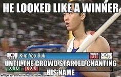 He looked like a winner...