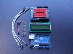 Using the MakerShield - LCD Display — DIY How-to from Make: Projects