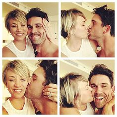 Kaley Cuoco shares snap of husband Ryan Sweeting after divorce rumours Celebrity Selfies, Celebrity Short Hair, Celebrity Gossip, Celebrity News, Celebrity Couples, Big Bang Theory Actress, Short Hairstyles 2015, Short Haircuts, Pixie Crop