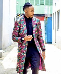 African Clothing For Men, African Men Fashion, Ankara Styles For Men, Ankara Tops, African Print Dresses, Ankara Dress, Brides And Bridesmaids, Custom Clothes, Fashion Outfits