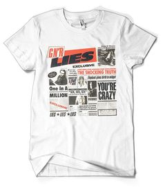 afb3f4ccd3f 44 Best Guns N Roses T-Shirts Collection Official Merchandise images ...