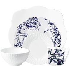 5pc place setting (a) from the 'Modern Graphic' collection by Ceci Johnson of Ceci New York for NewlyWish Registry Re-Patterned #wedding #registry #style