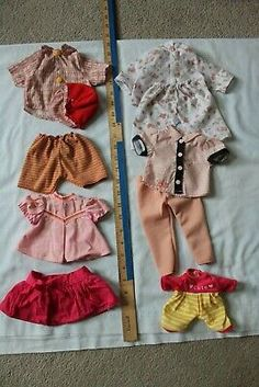 Antique vintage modern doll clothes, over 50 pieces - will end Feb. Over 50, Vintage Modern, 50th, Doll Clothes, Two Piece Skirt Set, Dolls, Antiques, Skirts, Ebay