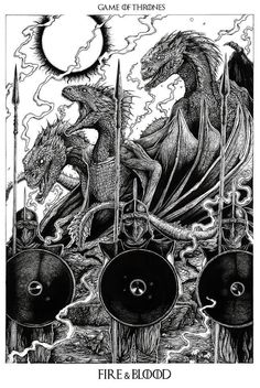 Game of Thrones by Liam Atkin