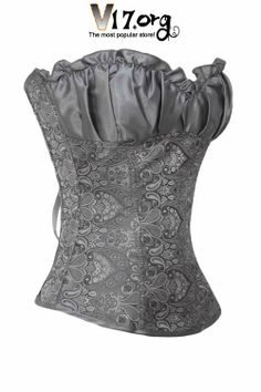 renaissance dresses | Plus Size Clothing / Plus Size Corsets / Gray Renaissance